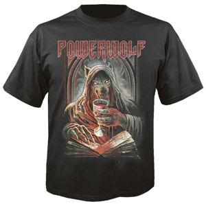 Tričko metal NUCLEAR BLAST Powerwolf We drink your blood černá S