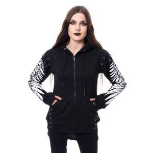 mikina s kapucí POIZEN INDUSTRIES ELORA černá XL