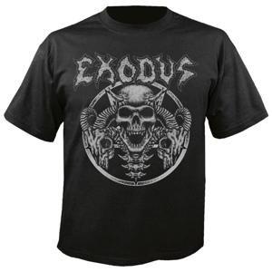 tričko metal NUCLEAR BLAST Exodus Horns Skull černá L