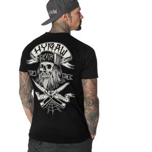 tričko hardcore HYRAW REBELLION černá