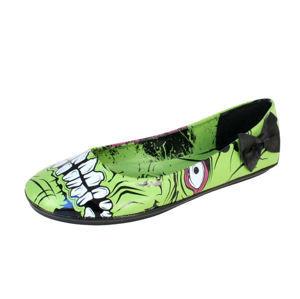 baleríny dámské - Zombie Stomper Flat - IRON FIST - IFW005228-Green 38