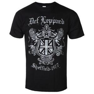 tričko pánské DEF LEPPARD - SHEFFIELD 1977 - PLASTIC HEAD - PH11348