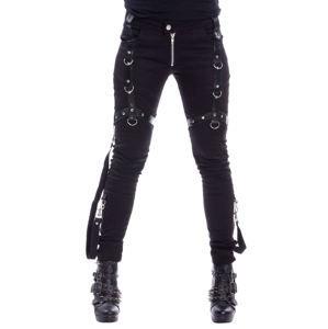 kalhoty dámské Vixxsin - LEVANT - BLACK - POI497