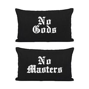 povlečení na polštáře BLACK CRAFT - No Gods / No Masters - PC001NG