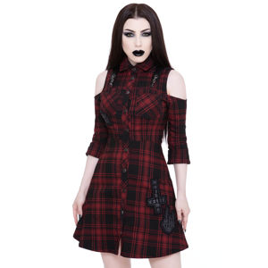 šaty KILLSTAR Paranormal Shirt-Dress XL