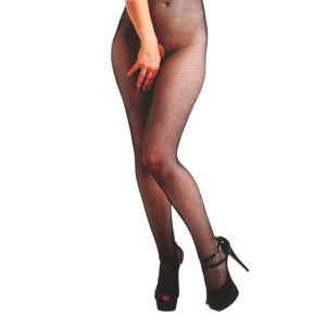 kalhoty plátěné PAMELA MANN Fishnet Crotchless One size