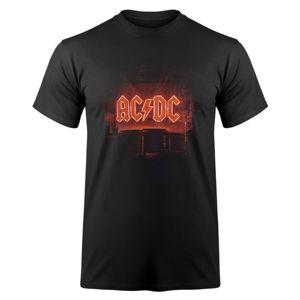 Tričko metal F.B.I. AC-DC Power Up černá S