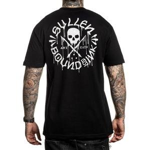 tričko pánské SULLEN - BOUND BY INK - BLACK - SCM2821_BK L