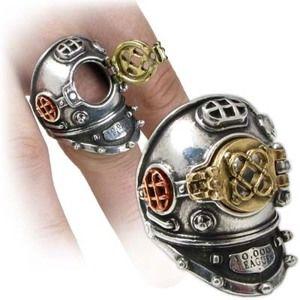 prsten 700 Fathoms - ALCHEMY GOTHIC - R181 T