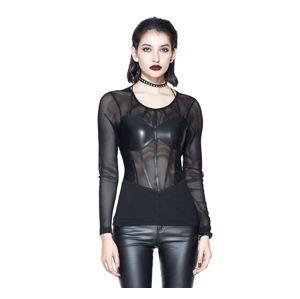 tričko dámské s dlouhým rukávem DEVIL FASHION - TT100