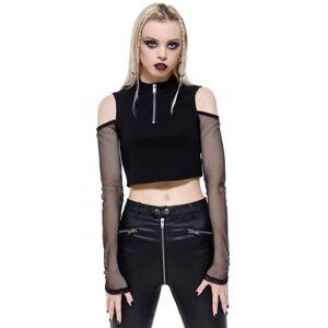 tričko dámské s dlouhým rukávem (top) KILLSTAR - Salome - KSRA002878 XS