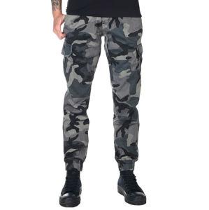 kalhoty plátěné URBAN CLASSICS High Waist 30