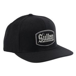 kšiltovka SULLEN - BLAQ LETTER - BLACK/GREY - SCA2923_BKGY