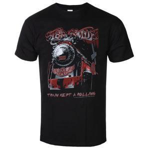 tričko metal LOW FREQUENCY Aerosmith Train kept a going černá 3XL