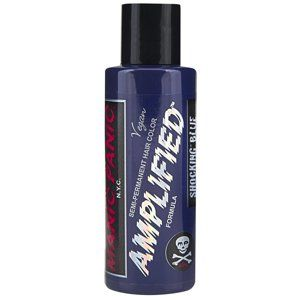 barva na vlasy MANIC PANIC - Amplified - Shocking Blue - MP015