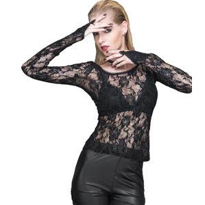 tričko dámské s dlouhým rukávem DEVIL FASHION - TT045