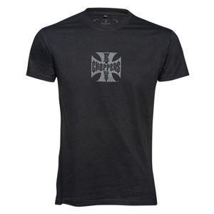tričko pánské WEST COAST CHOPPERS - Solid black - WCCTS132666ZW