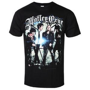ROCK OFF Mötley Crüe Group Photo černá vícebarevná L