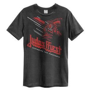 AMPLIFIED Judas Priest Screaming for Vengence černá